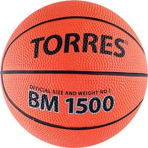 Мяч баскетбольный Torres сувенирный BM1500 (арт. B00101) купить недорого низкая цена  - купить со скидкой