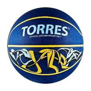 Мяч баскетбольный Torres сувенирный Jam (арт. B00041) купить недорого низкая цена  - купить со скидкой
