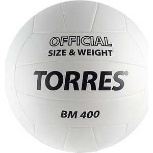 Мяч волейбольный любительский Torres BM400 арт. V30015, размер 5, бело-черный