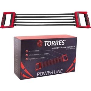 Эспандер Torres (арт. PL0007), цвет: красно-черный эспандер бабочка torres thigh