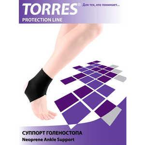 Суппорт голеностопа Torres (арт. PRL6007M), размер M, цвет: черный купить недорого низкая цена  - купить со скидкой
