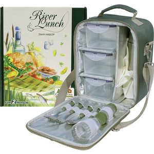 Набор для пикника Camping World CW River Lunch набор посуды babybjorn 2 тарелки 2 ложки 2 вилки в упаковке розовый лиловый
