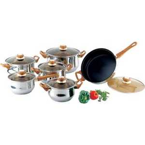 Набор посуды Bekker Classik ВК-226 кастрюля 6 3 л bekker