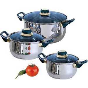 Набор посуды Bekker ВК-952 кастрюля 6 3 л bekker