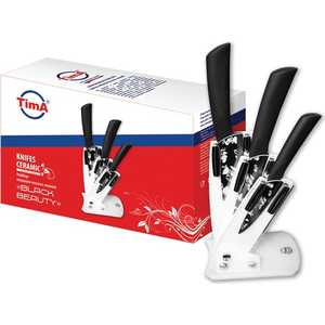 Набор керамических ножей TimA Black and beauty из 4-х предметов KFH-800