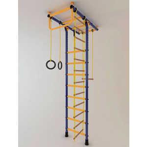 Детский спортивный комплекс Лидер Т-01 М сине/жёлтый купить недорого низкая цена  - купить со скидкой