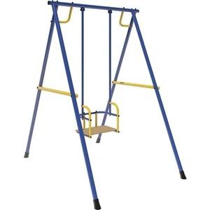 качели на подшипниках пионер тк Качели Лидер 01, металл. на подшипниках, сине/желтые