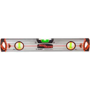 Уровень Зубр 100см магнитный Acurate 5 (34595-100-M) уровень зубр 3459 мастер торпедо пластмассовый магнитный 4 ампулы 230мм