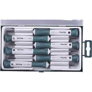 Фото - Набор отверток для точных работ Kraftool 6 предметов Electronic-Kraft (25031-H6_z01) набор отверток kraft professional 2 шт