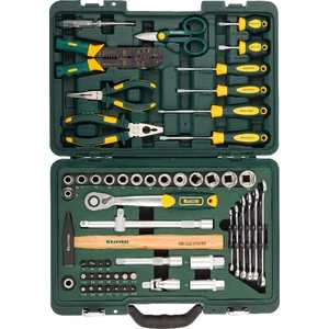 Набор инструментов Kraftool 59шт Industry (27977-H59) set of hand tools kraftool 27977 h84