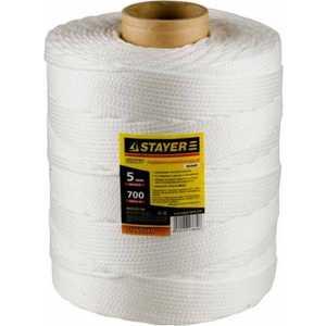 Шнур хозяйственно-бытовой Stayer 5мм х700м Master (50410-05-700) шнур stayer standard 5мм 700м 50421 05 700