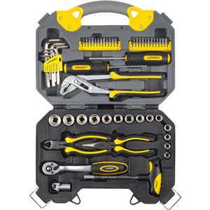 Набор инструментов Stayer 56шт Profi (27710-H56) набор инструментов сибин 27765 h56 слесарно монтажного инструмента 56предметов