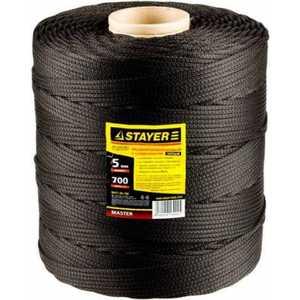Шнур Stayer Standard 5мм 700м (50421-05-700) шнур stayer standard 5мм 700м 50421 05 700