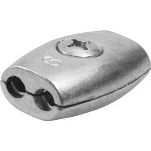 Зажим троса Зубр Бочонок 6мм ТФ5 15 шт (4-304455-06) цена