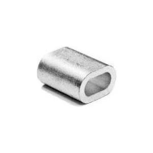 Зажим троса Зубр DIN 3093 алюминиевый 6мм ТФ5 40 шт (4-304475-06)