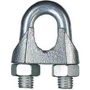 Зажим троса Зубр DIN 741 оцинкованный 10мм ТФ5 25 шт (4-304415-10)