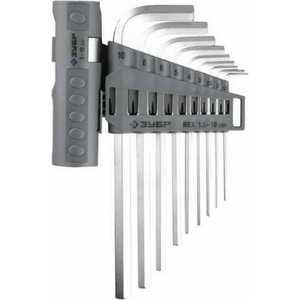 Набор ключей шестигранных Зубр 1.5-10мм 9шт
