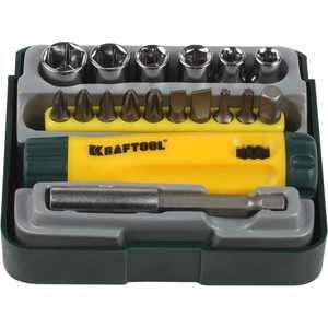 Набор Kraftool отвертка Cr-V 18 предметов (26143-H18)