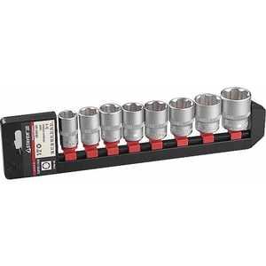 Набор торцевых головок Kraftool 16-27мм 8шт Super Lock Industrie Qualitat (27864-H8_z01) набор инструментов kraftool 82шт super lock expert qualitat 27887 h82 z02
