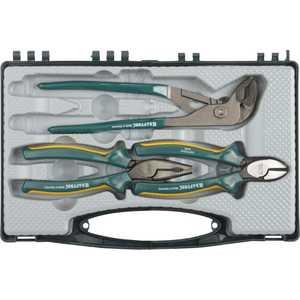 Набор Kraftool губцевые инструменты Nord в боксе 3 предмета (22005-H3) набор чехлов для дивана и кресел мартекс с карманами 3 предмета 05 0751 3
