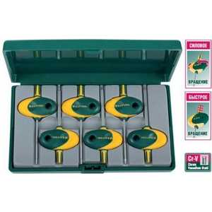 Набор Kraftool ключи Expert Мини Torx Т7-Т20 6 предметов (27440-H6)