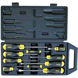 Набор отверток Stanley Cusion Grip 10шт в футляре (2-65-005) набор отверток stanley cusion grip 10шт в футляре 2 65 005