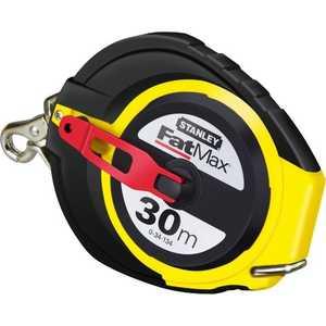 Рулетка Stanley 30м х 10мм FatMax 30M с металлической лентой (0-34-134) рулетка stanley fatmax 30мx9 5мм 0 34 132