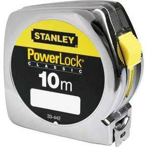Рулетка Stanley 10м х25мм Powerlock (0-33-442) рулетка stanley powerlock 0 33 443