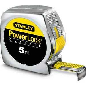 Рулетка Stanley Powerlock 5м (0-33-195) рулетка stanley powerlock 0 33 443