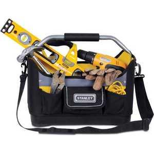 Сумка для инструментов Stanley 16 Open Tote (1-96-182) [whorse] new casual tote patchwork designer brand women genuine leather handbags open bucket shoulder bag messenger bags w07540