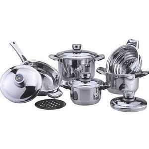 Набор посуды Bekker DeLuxe из 10-ти предметов ВК-2866