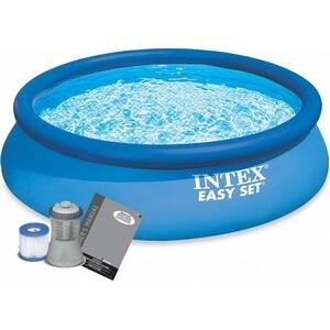 купить Надувной бассейн Intex Easy Set 3.66х0.76м (56422)/(28132) по цене 7990.65 рублей