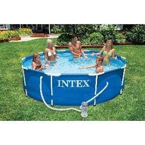 Каркасный бассейн Intex 3.05х0.76м (56999/28202/28202NP) песочный фильтрующий насос intex krystal clear 8000л ч 26648