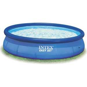 бассейн intex easy set 305х76см 28122 Надувной бассейн Intex Easy Set 3.66х0.91м (56930/28144)