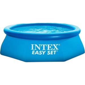Надувной бассейн Intex Easy Set 2.44х0.76м (54912/28112/28112NP) песочный фильтрующий насос intex krystal clear 8000л ч 26648