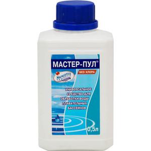 Средство безхлорное жидкое 4 в 1 Маркопул Кэмиклс М19 Мастер-Пул 0.5л цена и фото