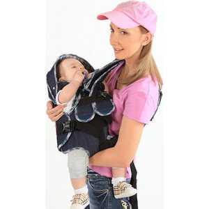 """Рюкзак Baby Style кенгуру """"Мася Джинс"""" до 9,5 кг 1411939"""