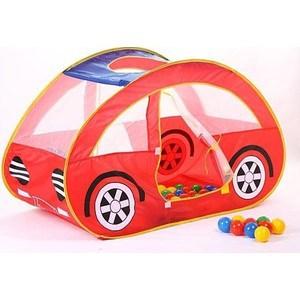Игровой домик Calida Автомобиль 130х55х80 см и 100 шаров LI 653 цена
