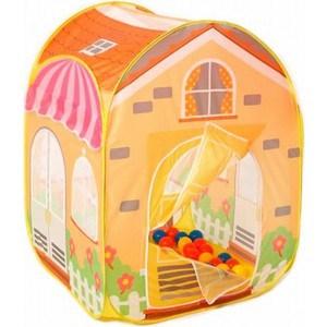 Игровой домик Calida Вилла 85х85х110см и 100 шаров 686 игрушки для улицы игровая палатка с мячиками 100 шт calida вилла 85х85х110см