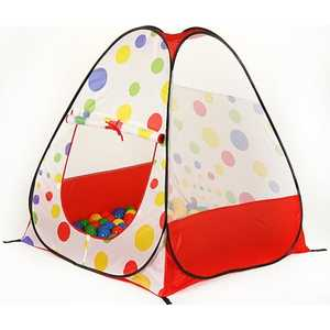 Игровой домик Calida Конус 104х104х110см и 100 шаров 619 палатки домики calida дом палатка 100 шаров космический корабль