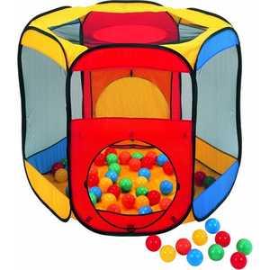 Игровой домик Calida Многоугольник 122х105х97см и 100 шаров 621