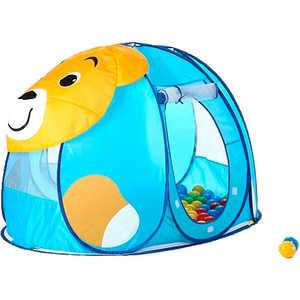 Дом Calida Мишка 130х90х85см 100 шаров 676 палатки домики calida дом палатка 100 шаров космический корабль