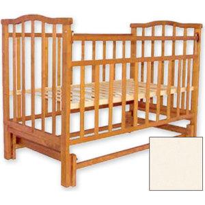 Кроватка Агат Золушка 3 поперечный маятник слоновая кость 52105