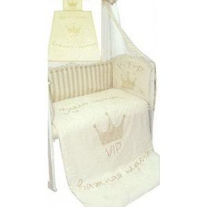 Комплект в кроватку Золотой гусь Растем весело 7 предметов (молочный) 1183 защитный бампер золотой гусь мишутка