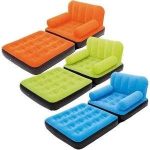 Кровать-кресло флокированная Bestway 193х102х64 см (67277)