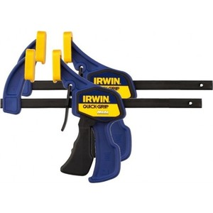 Струбцины Irwin до 300мм (2шт) mini (T54122EL7) струбцина irwin quick grip xp 150 мм 10505942