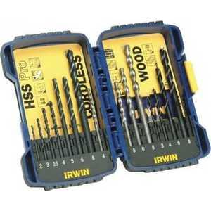 Набор сверл Irwin 2.0-8.0мм 15шт Pro Combi (10503993)