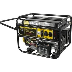 Генератор бензиновый Huter DY6500LX генератор huter dy6500lx электростартер 5000вт