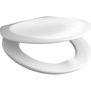Сиденье для унитаза Jika Lyra/Dino с металлическими петлями, хром (8.9337.0.300.063)