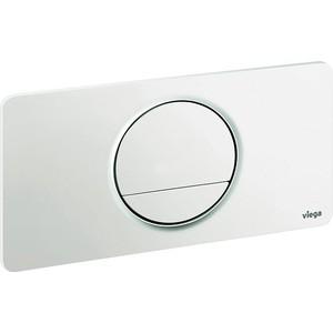 Кнопка смыва Viega Visign fo style 13 для бачка белая пластик (654498)